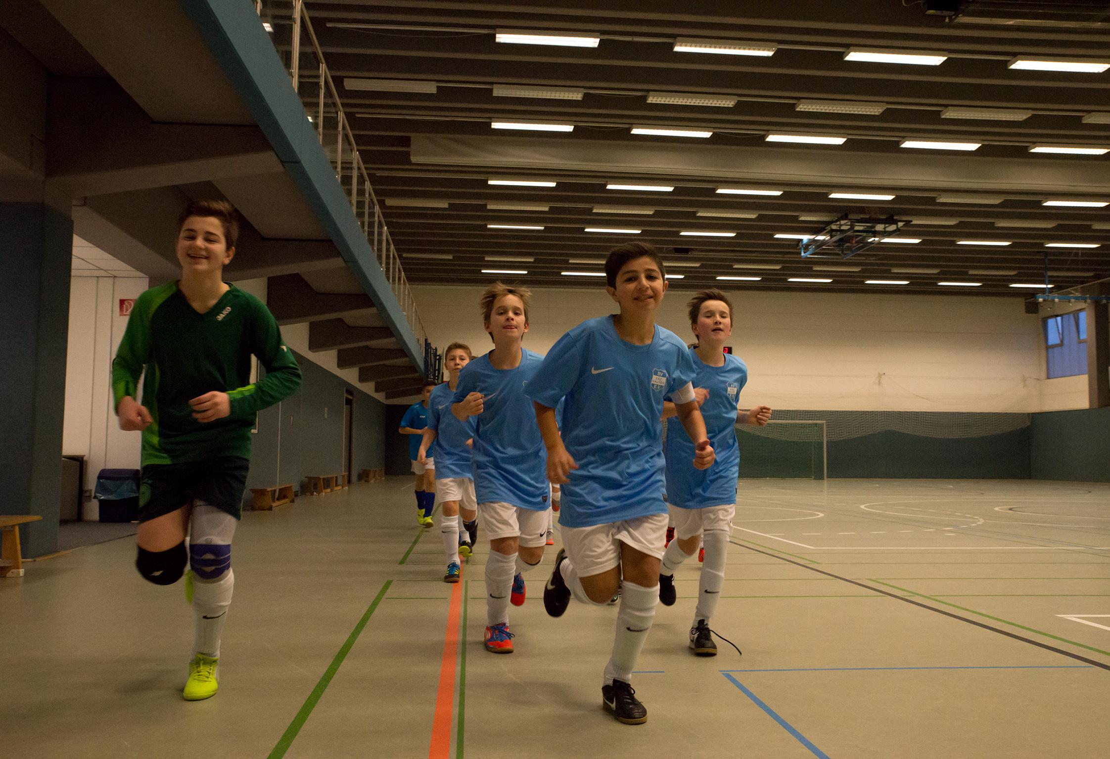 Der Schleifer erwartet absolute körperliche Fitness - auch im Jugendfußball!