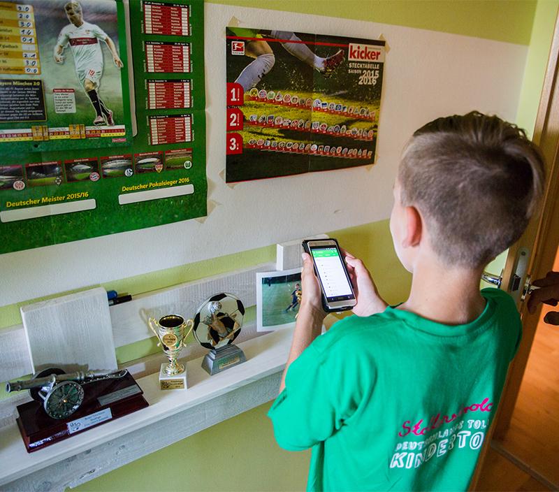 Jugenfußball Kommunikation Fußball Smartphone WhatsApp Telefonketten