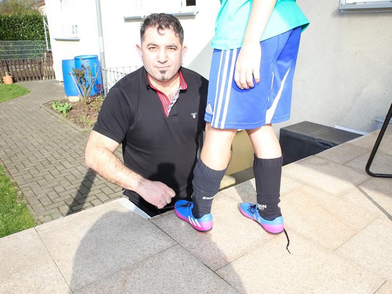 Jugendfußball Vatertrainer Vater Sohn