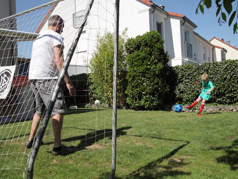 Jugendfußball, Vatertrainer Vater Sohn