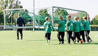 Verantwortung: ja, Verheizen: nein –  Kinderaufgaben im Jugendfußball